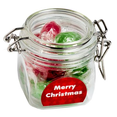 CCX015G Twist Wrapped Boiled Lolly Filled Custom Canisters - 120g
