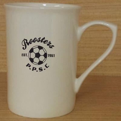 MGB002W 280ml Ascot Personalised Bone China Coffee Mugs