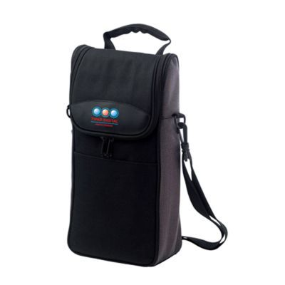 D602 Zippered Flap Promotional Cooler Bags With Tool
