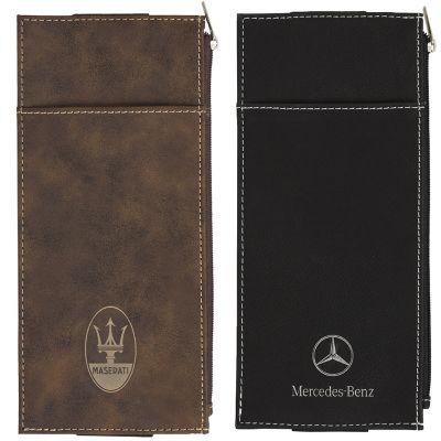 EX106 A5 Pen & Tech Quiver Promotional Leather Compendiums