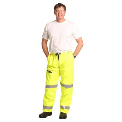 HP01A Water Proof Personalised High Vis Pants With 3M Reflective Tape