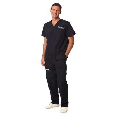 M9370 Unisex Cargo Embroidered Scrub Pants