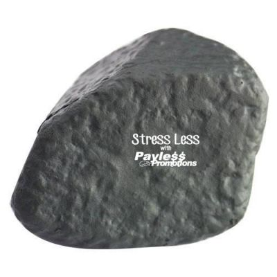 S138 Rock Personalised Eco Friendly Stress Shapes