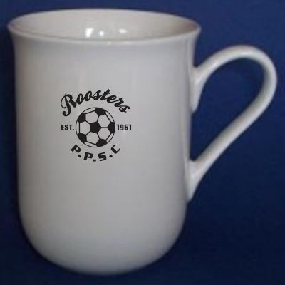 MGP004W 280ml Belle Custom Porcelain Coffee Mugs