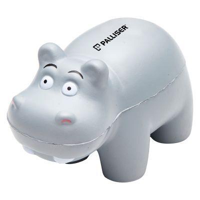 T768 Hippo Shaped Custom Animal Stress Balls