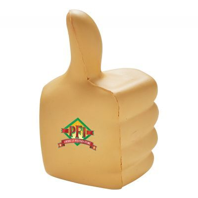 T776 Thumbs Up Printed Body Parts Stress Shapes