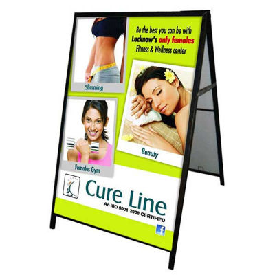 AF2 Double-Sided Full Colour Printed Metal A Frame Signs - 600 x 900mm