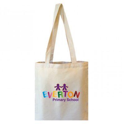 B11 Long Handle Custom Canvas Shopping Bags
