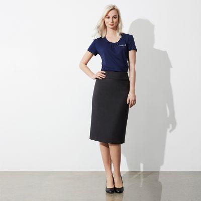 Cheap Custom Embroidered Corporate Uniform Business Skirts Australia