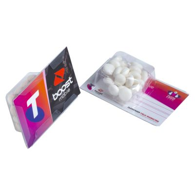 CC001CS Mints Promo Business Card Confectionery - 14g