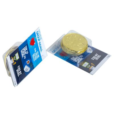CC001JS Chocolate Coins Promo Business Card Confectionery - 4