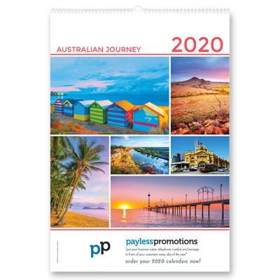 CC06 13 Pages Promo Wall Calendars - Australian Scenery