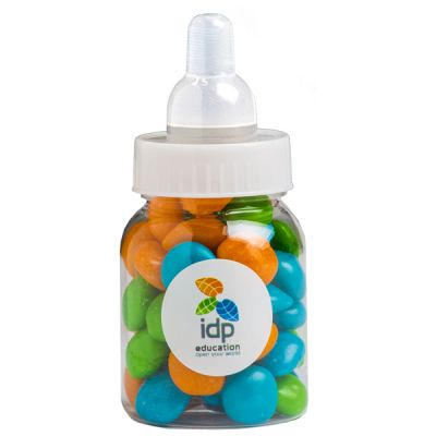 CC065E Skittles Look-Alike Filled Branded Baby Bottles - 50g