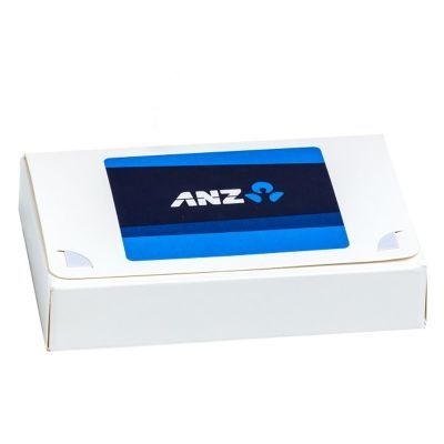 CC069C4 Biz Card Box with Smarties Look-Alike (Corporate Colours) + Sticker On Box - 50g