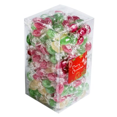 CCX058B Big Box of Twist Wrapped Corporate Christmas Lollies - 2Kg