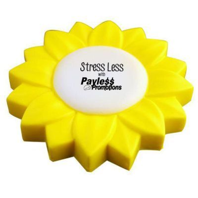 S107 Flower Personalised Eco Friendly Stress Balls