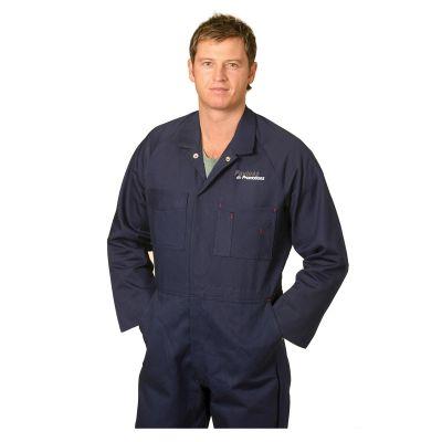 WA07 Coverall Logo Work Wear Overalls (Regular)