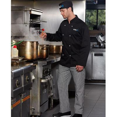 CP01P Elastic Waist Logo Chefs Pants
