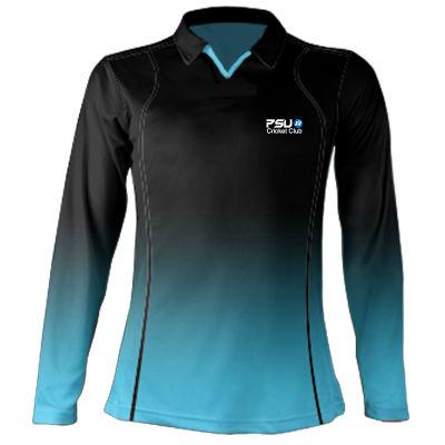 CS8-L Ladies X Series Elite L/S Cricket Shirts - Limited Overs Range