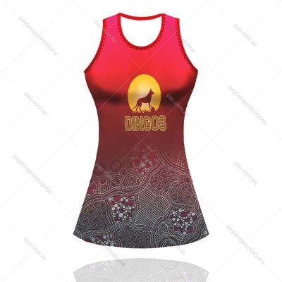 AL1-G Girls Full-Custom A-Line Netball Dresses - S Series