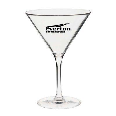 GLPC301517P 300ml Martini Custom Plastic Glasses
