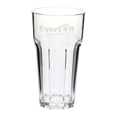 GLPC852706P 355ml Casablanca Printed Plastic Glasses