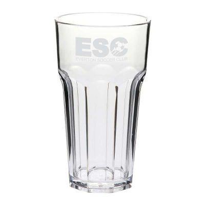 GLPC852807P 425ml Casablanca Branded Plastic Glasses