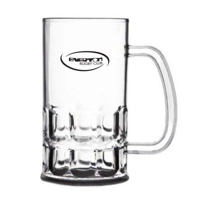 GLPCGW425ST 425ml Beer Stein Promotional Plastic Glasses