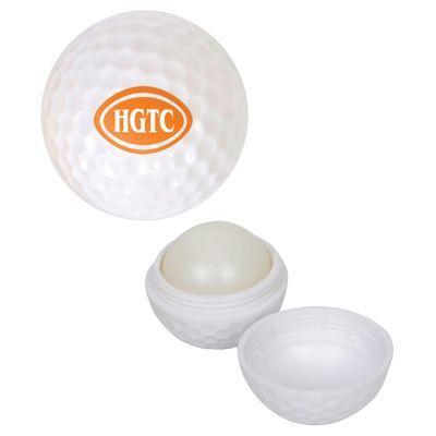 H626 Golf Ball Sunscreen Moisturising Logo Lip Balm