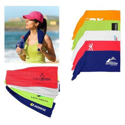 H710 Hyper-Evaporative Embroidered Cooling Towels