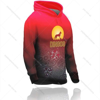 H4-L+HUN Ladies Full-Custom Kangaroo Pocket Hunting Hoodies