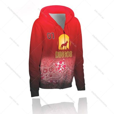 H6-K+HUN Kids Full-Custom Full Zip Hunting Hoodies
