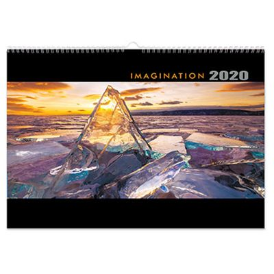 IM11 12 Pages Promo Wall Calendars - Aesthetics Nature Designs