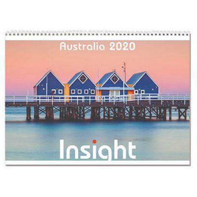 IN19 13 Pages Logo Desk Calendars - Insight Australia