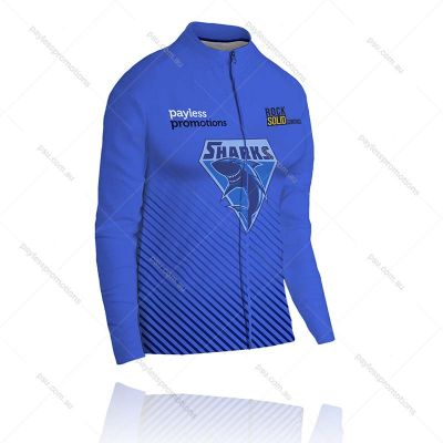 J1-L Ladies Full-Custom Sublimation Lightweight Track Jackets