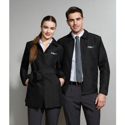 J126LL Ladies Studio Trench Branded Overcoats