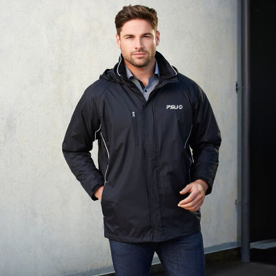 J236ML Unisex Core Embroidered Water Proof Jackets