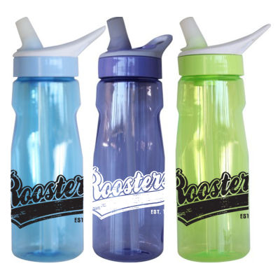 JM024 Classic Tritan Business Plastic Sports Drink Bottles - 750ml
