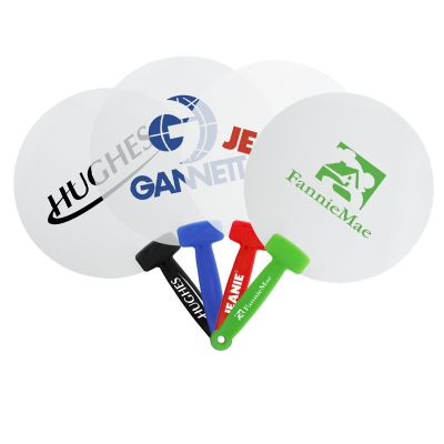 K276 Plastic Hand Personalised Fans
