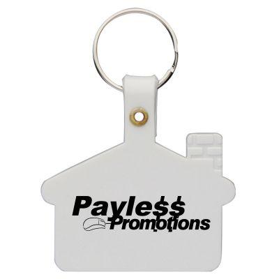 K15 House Personalised Soft Plastic Keyrings