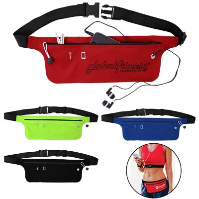 L515 Lycra Branded Running Belts & Armbands With Zippered Pouch