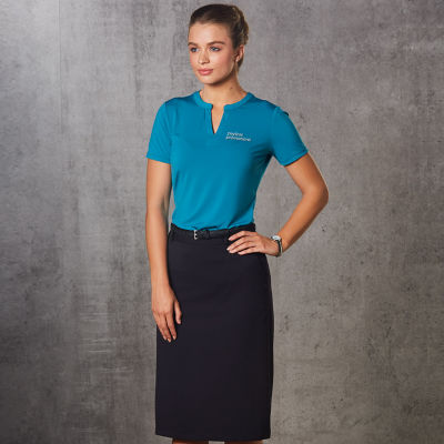 Cheap Custom Embroidered Corporate Uniform Business Skirts Australia