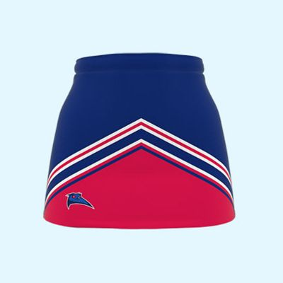 NB-ALND-122 Dodge Deluxe Sublimated Netball Skirts With Inbuilt Shorts