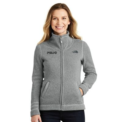 NF0A3LH8 Ladies The North Face Sweater Fleece Branded Jackets