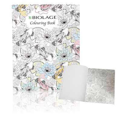 NP130 Design Your Own Cover A4 Sized Branded Colouring Books - 24 Pages
