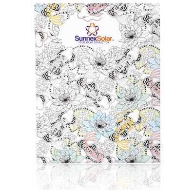 NP130A5 Design Your Own Cover A5 Sized Branded Colouring Books - 24 Pages