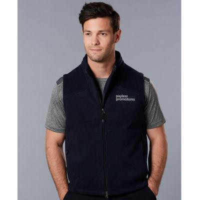 PF09 Deluxe Bonded Customised Fleece Vests