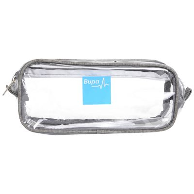 RB1028 Clear Printed Travel Case