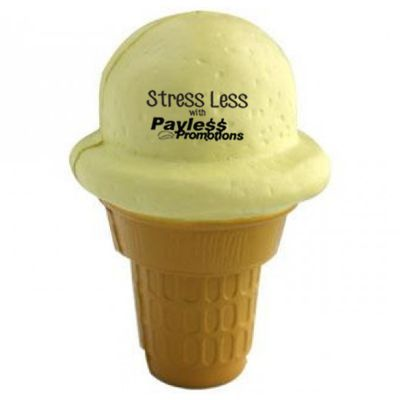 S108 Ice Cream Personalised Food Stress Shapes