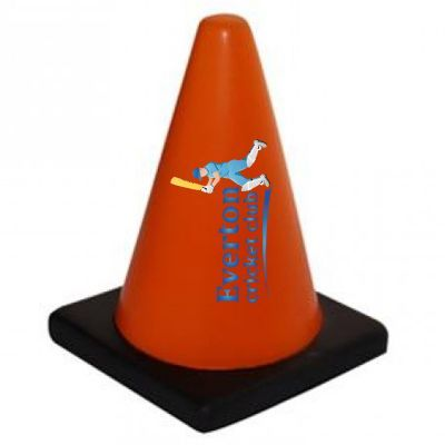 S118 Traffic Cone Branded Construction / Trades Stress Shapes